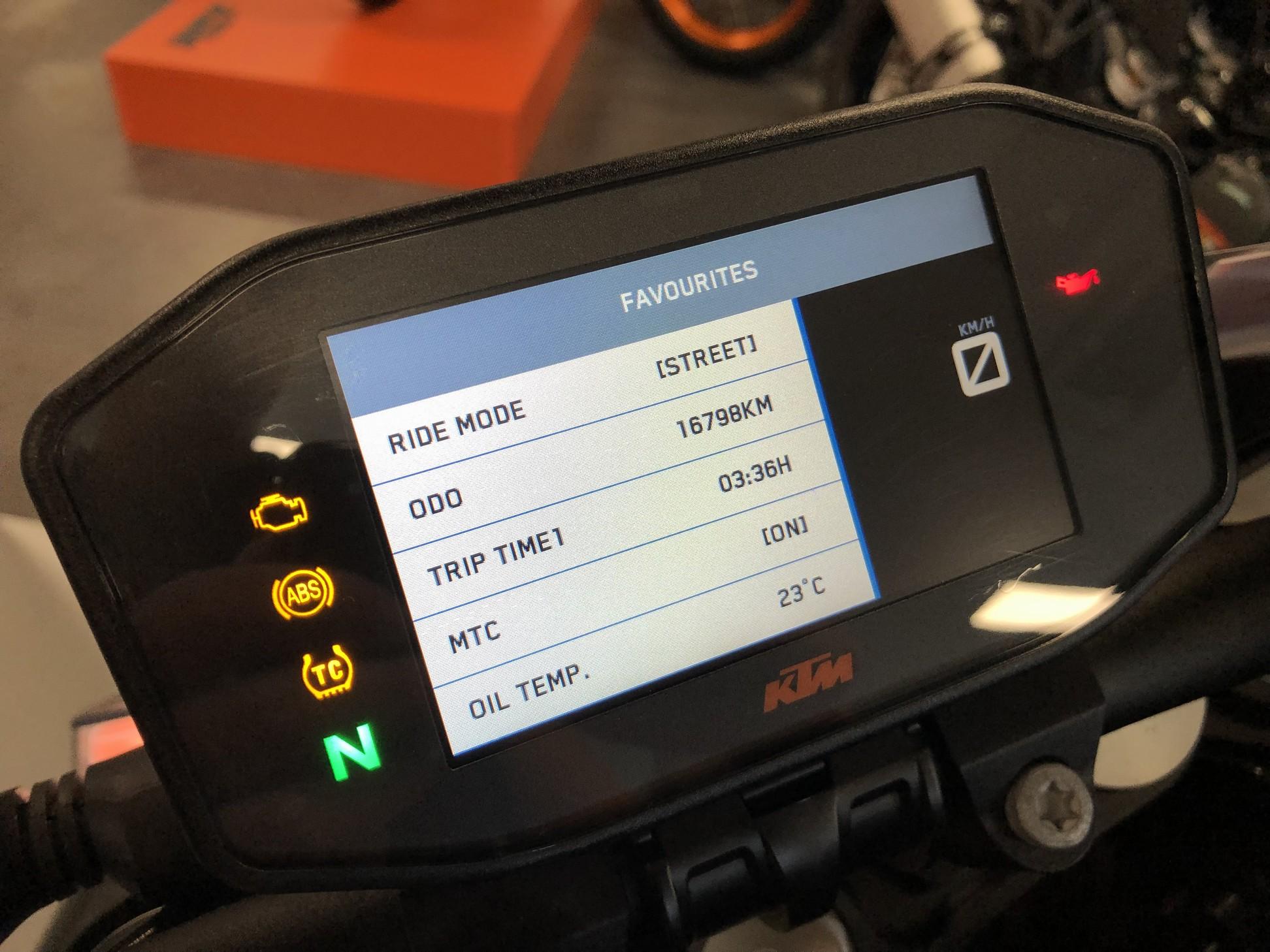 KTM - 1290 Super Duke R