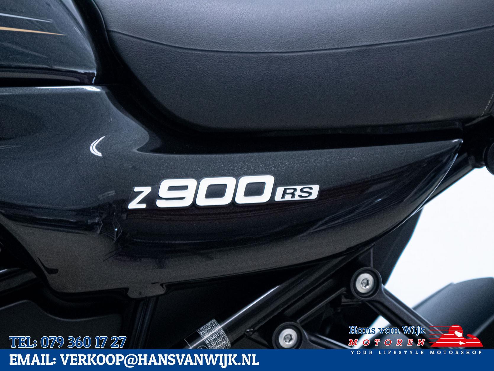 KAWASAKI - Z900 RS Zwart