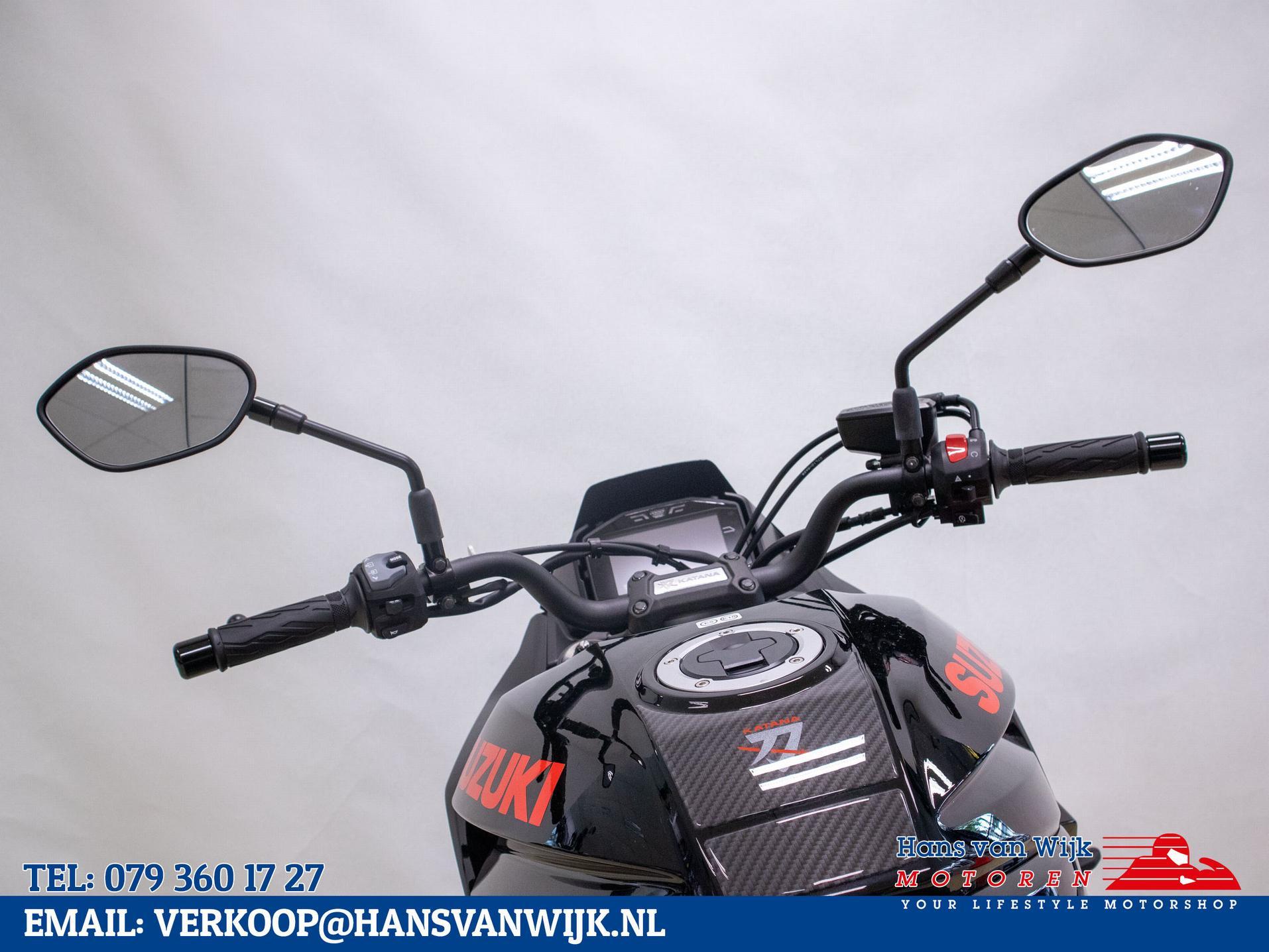 SUZUKI - GSX-S1000S Katana Exclusief ex