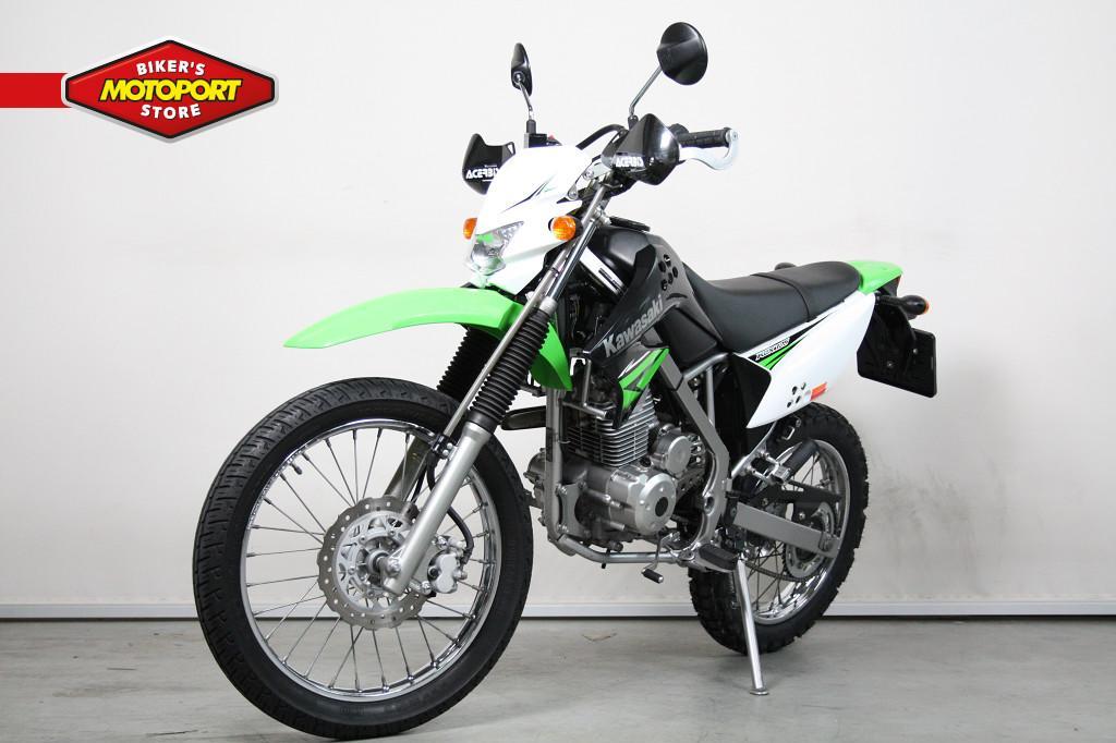 KAWASAKI - KLX 125 De motor voor de begi