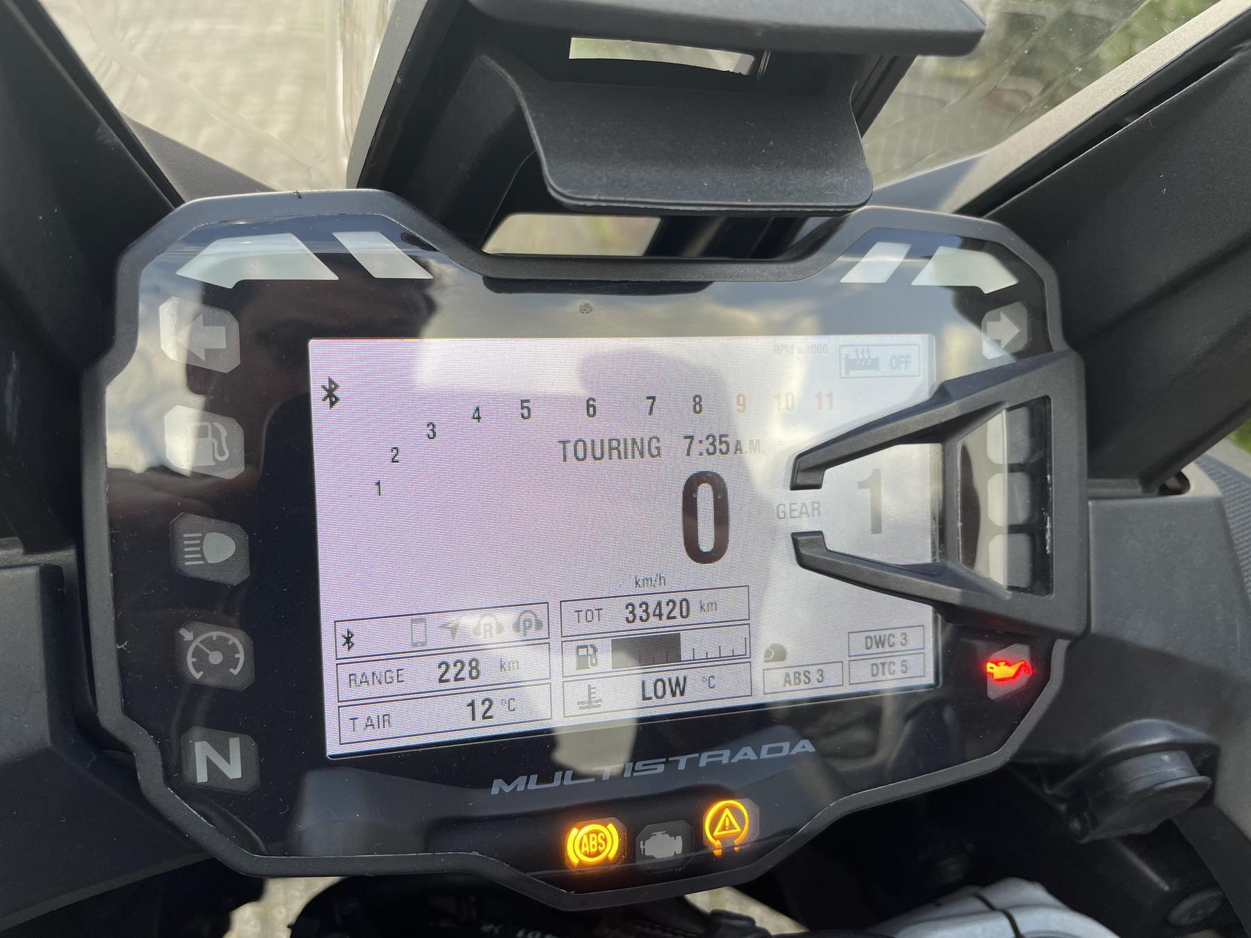 DUCATI - MTS 1200 ENDURO TOURING PACK P