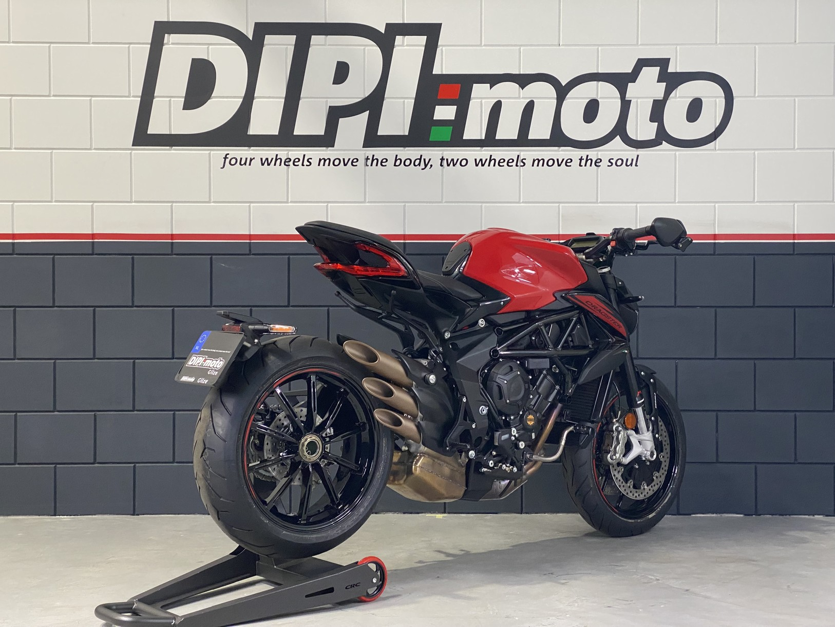MV AGUSTA DRAGSTER ROSSO EAS ABS