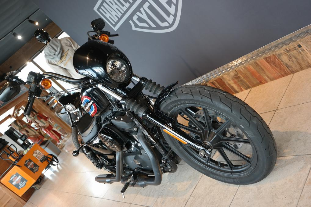 HARLEY-DAVIDSON - XL1200NS Iron Vivid Black