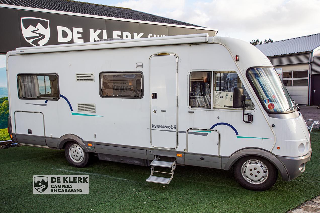 Onwijs Deze HYMER B654 SL is te koop bij De Klerk Caravans B.V. MW-95